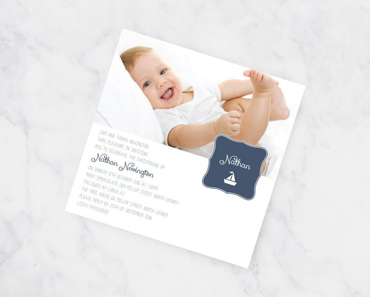 8 best Christening Invitations images on Pinterest Christening - best of sample invitation of baptism