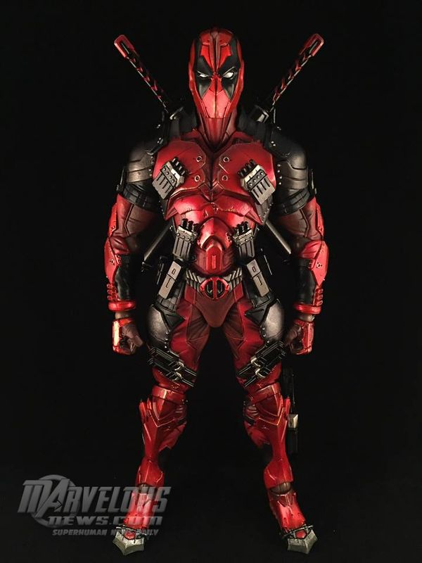 Square Enix Play-Arts Kai Marvel Variant Deadpool Figure Video Review & Image Gallery - Figures - MarvelousNews.com