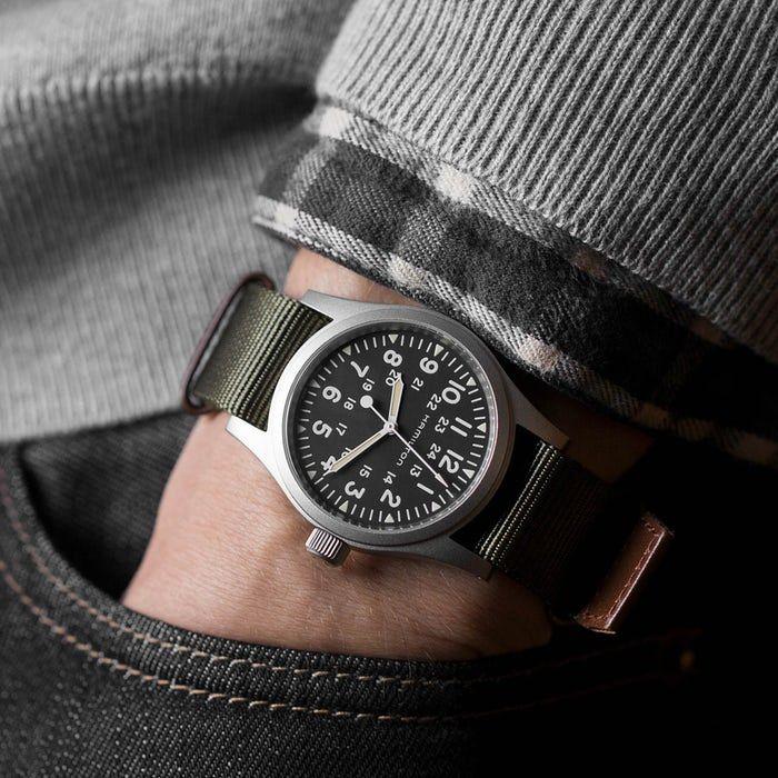 Introducing The Hamilton Khaki Field Mechanical Hamilton Khaki Field Hamilton Watches For Men
