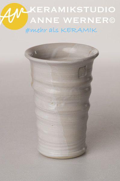 Becher & Tassen - Becher#ELENA - ein Designerstück von KERAMIKSTUDIO_ANNE_WERNER bei DaWanda