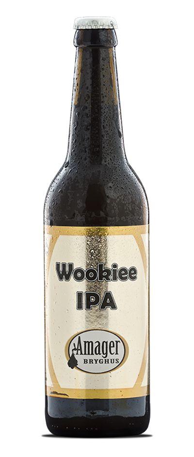 Wookiee IPA / Denne Wookiee IPA er et samarbejdsbryg med californiske Port Brewings brygger Mike Rodriguez samt stifter og brygchef Tomme Arthur, der var en tur i Danmark den 9. marts 2011. Det er en ægte amerikansk Westcoast IPA, hvor der ikke er sparet på humlerne. Og der hersker ingen jantelov, når vi siger, at vi er stolte af denne øl!