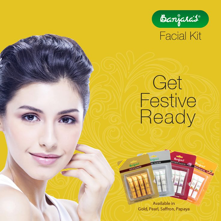 Look beautiful and glow every day with Banjara's facial kits. Get festive ready glow with Banjara's Gold, Pearl facial kit.  To know more visit: http://www.banjaras.co.in/#facialkit