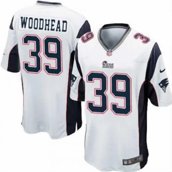 Danny Woodhead #39 Jersey - Youth New England Patriots Elite White$79.99