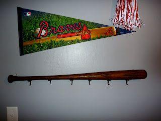 Diy Baseball Bat Coat Rack