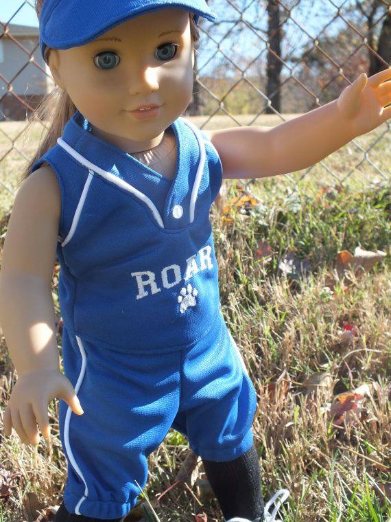 American Girls Softball  I am a champion by EmelyeNicholeCouture, $35.00