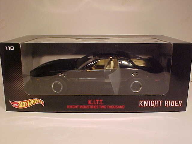 Contemporary Manufacture 180506: Kitt Knight Rider 1985 Pontiac Firebird Die-Cast Car 1:18 Hot Wheels 10In Bly60 -> BUY IT NOW ONLY: $99.96 on eBay!