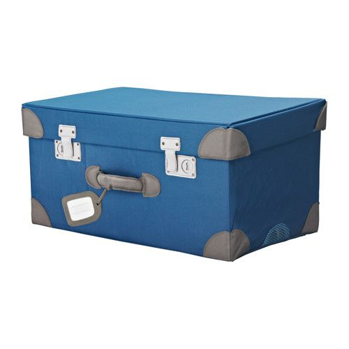 This will be perfect (storage) for our travel theme nursery!!  From IKEA