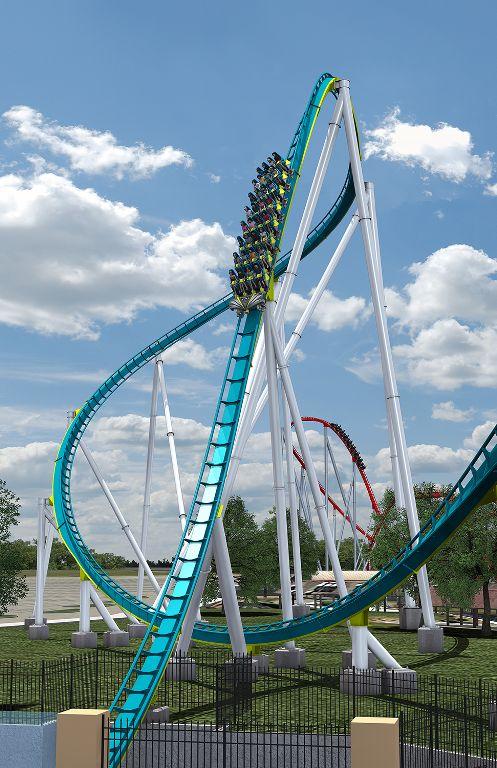 Fury 325: Carowinds Amusement Park, North Carolina