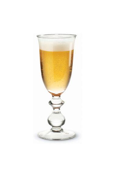 Fjørn Scandinavian ~ Holmegaard Charlotte Amalie Beer Glass ~ Must have!