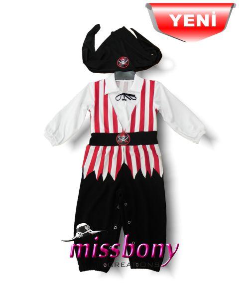 Korsan bebek kıyafeti