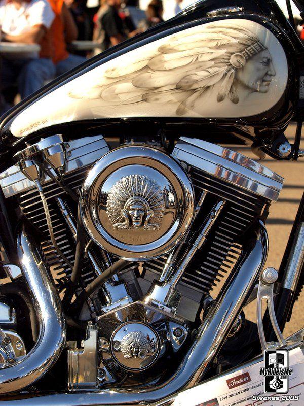 Harley Davidson ....   Full Head Dress    .....   by *Swanee3