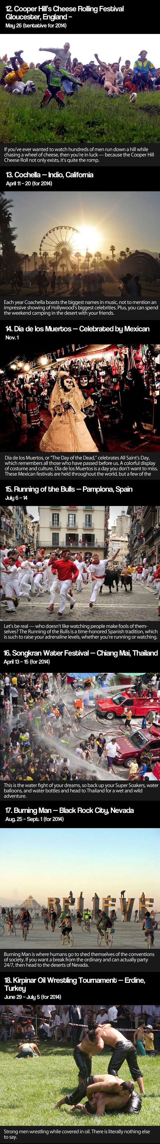 Popular festivals..