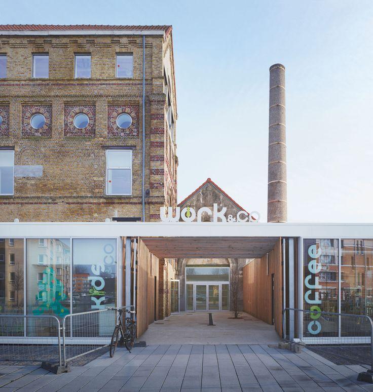 Coldefy & Associés Architectes Urbanistes, Julien Lanoo · Rehabiliation and Extension Of The Old Mil Rigot · Divisare