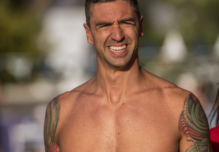 Anthony Ervin Claims 50 Free Win At Arena Pro Series Charlotte - Swimming World News Photo Courtesy: Peter H. Bick