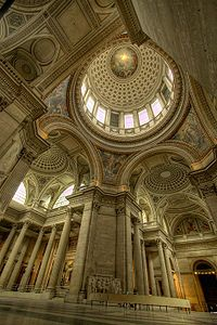 Interior dome of the Panthéon, Paris - Wikipedia, the free encyclopedia