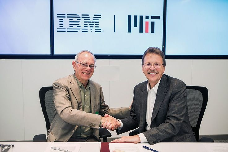 IBM and MIT to pursue joint research in artificial intelligence, establish new MIT–IBM Watson #AI Lab http://news.mit.edu/2017/ibm-mit-joint-research-watson-artificial-intelligence-lab-0907