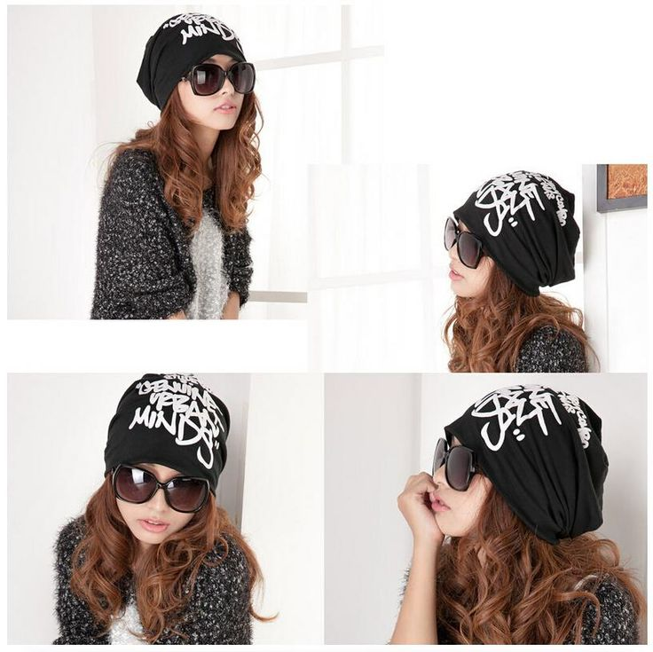 FGGS Fashion Beanie Letter Print Hip-hop Knitted Hat Cap Headwear 5 color //Price: $US $2.38 & FREE Shipping //     #beauty