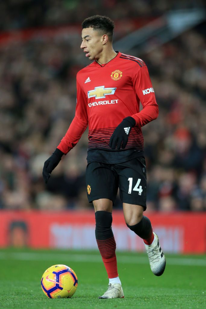 Jesse Lingard Of Man Utd In Action During The Premier League Match Premier League Matches Jesse Lingard Manchester United Football Club