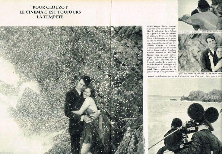 C- Coupure de Presse Clipping 1967 (2 pages) Film de Clouzot Terzieff et Wiener | eBay