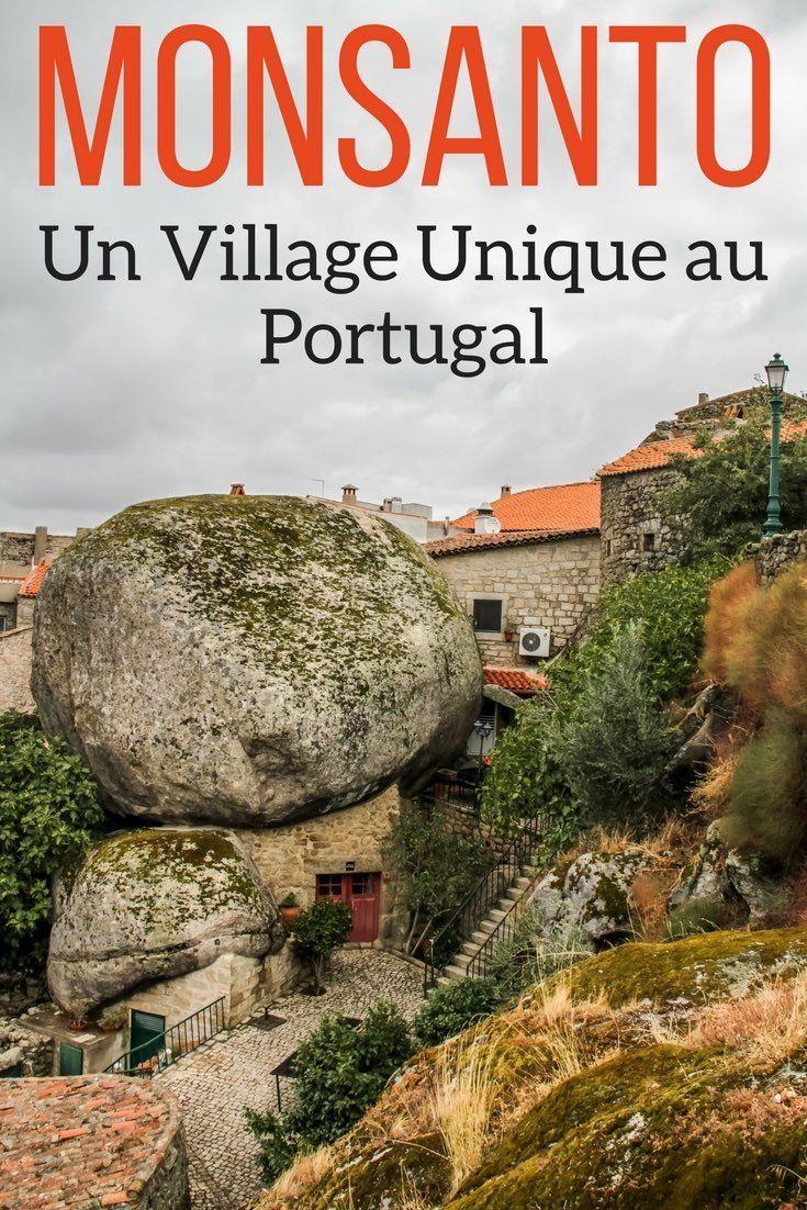 Portugal Voyage – Ne loupez pas l'incroyable village de Monsanto au Portugal. Les maisons y sont nichées entre et sous de gigantesques rochers, le tout en haut d'une colline. U des plus intéressants villages au Portugal plein de photos dans l'article | Portugal visite | Portugal vacances | Portugal itinéraire