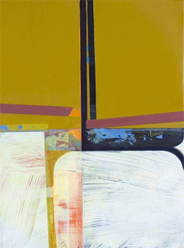 Rudder; 2013; oil on panel; 12 inches by 16 inches