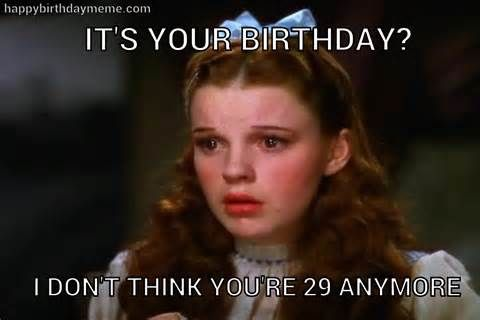 Dorothy Wizard of Oz - HappyBirthdayMeme.com