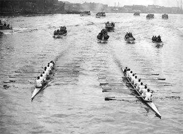 In 1954 Oxford won the 100th boat race