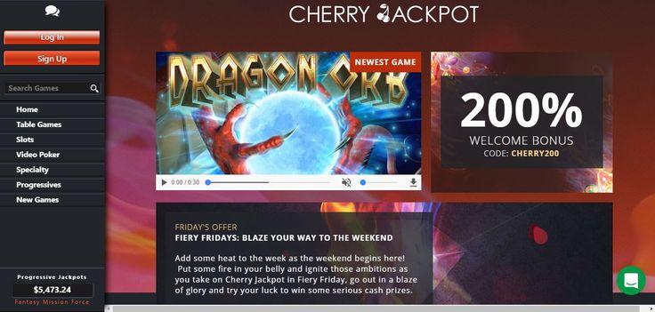 cherry jackpot casino game