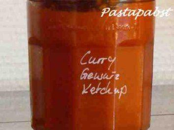 Curry Gewürz Ketchup rezept Curry herb ketchup recipe