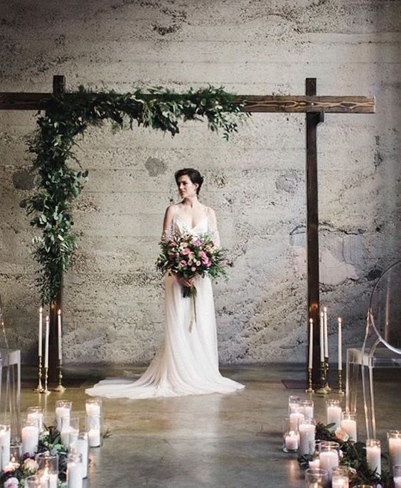 Altar Decorations For Wedding Ceremony: Best 20+ Indoor Wedding Arches Ideas On Pinterest