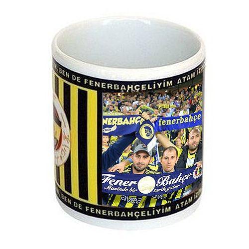 Kişiye Özel Sihirli Fenerbahçe Kupa Bardak