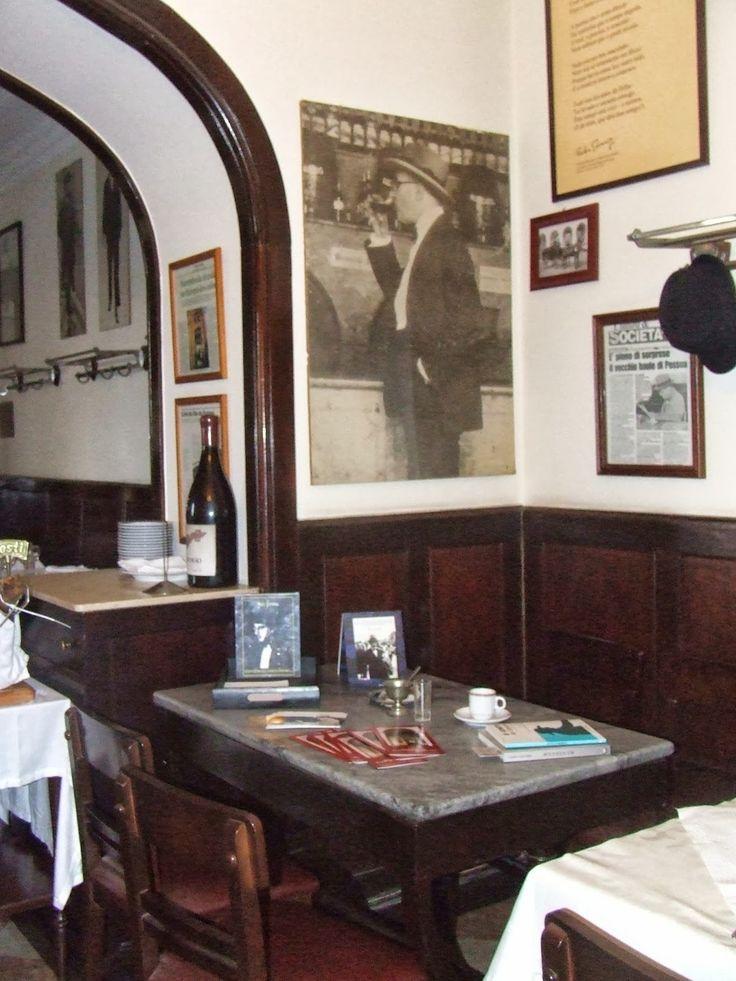 Café Martinho da Arcada (Lisbon) - Fernando Pessoa coffe