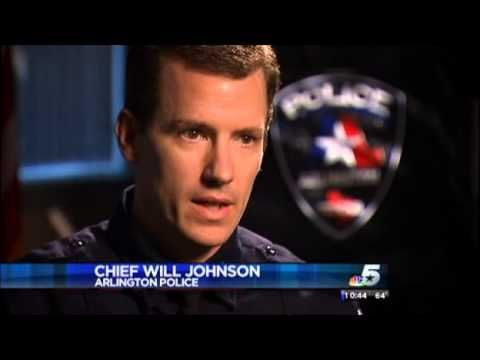 Police Texting and Driving Accidents Caught on Tape - Arlington Police