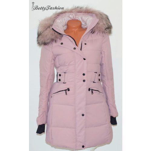 Lilás rózsaszín téli kabát S , M, L, XL, XXL | Winter
