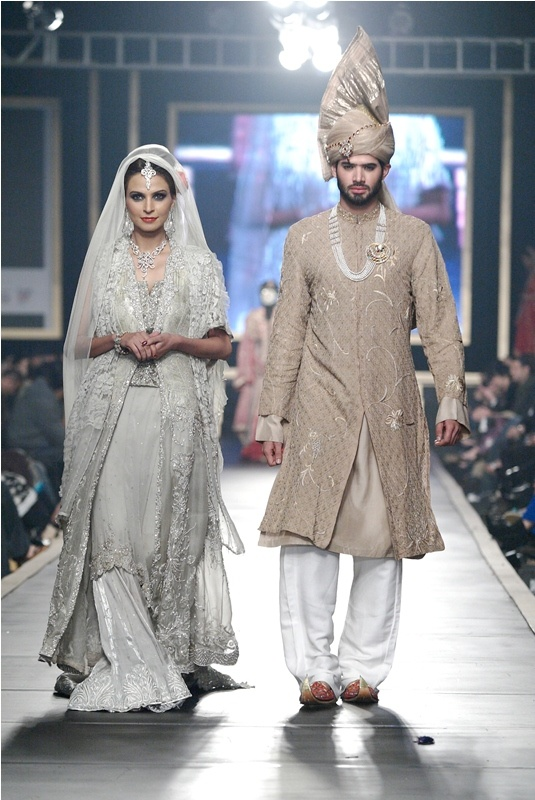 Authentic Pakistani Bride and Groom!!!!!