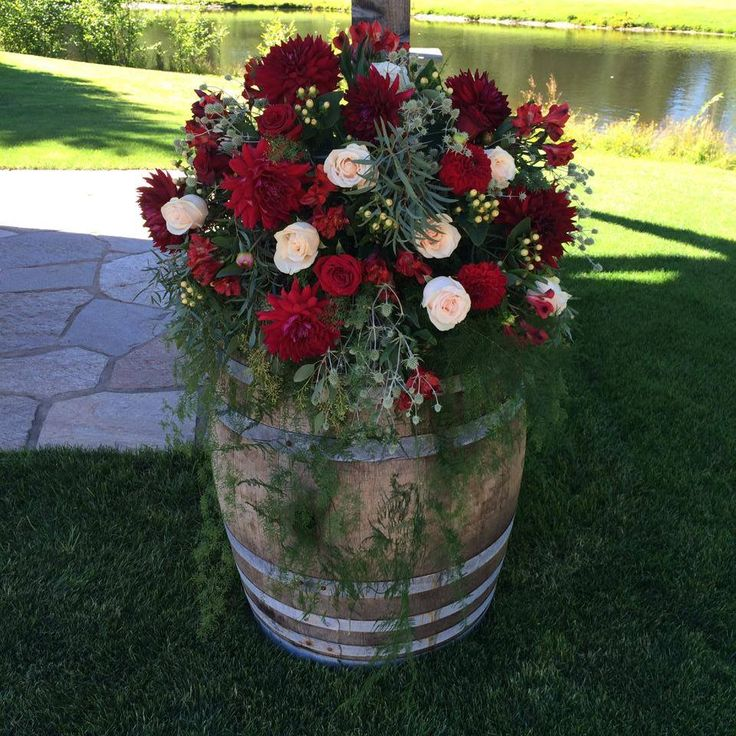 Explore The Incredible Sleeping Porch From The 2017 Idea: The 25+ Best Whiskey Barrel Flowers Ideas On Pinterest