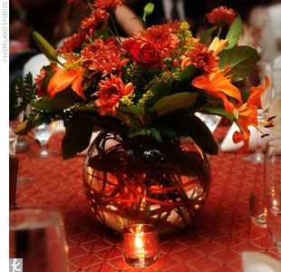 Autumn vase idea