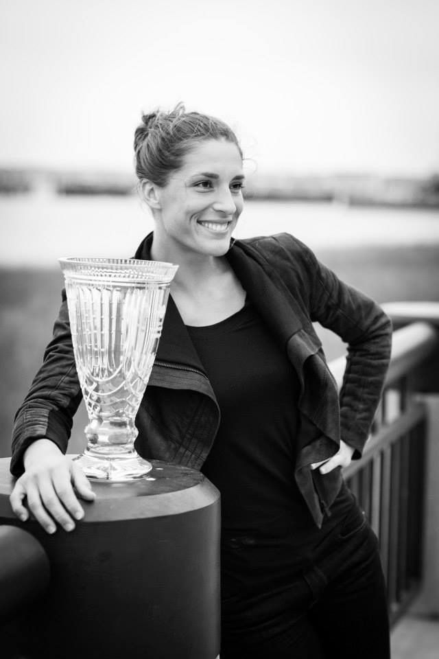 2014 Family Circle Cup champion Andrea Petkovic