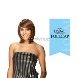 Equal (SNG) Band Full Cap Bounce Girl - Color 130 - Synthetic (Curling Iron Safe) Full Cap Wig