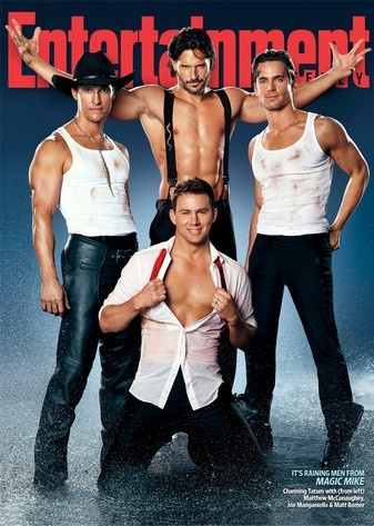 "I feel so manipulated by the media and yet.... I eagerly await its release. ""Magic Mike"""