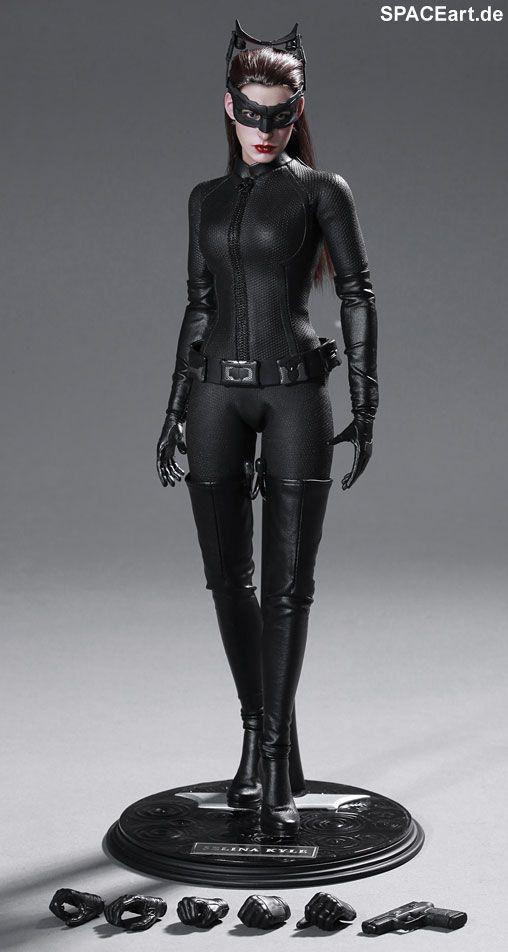 Batman - The Dark Knight Rises: Catwoman, Voll bewegliche Deluxe-Figur ... http://spaceart.de/produkte/bm013.php