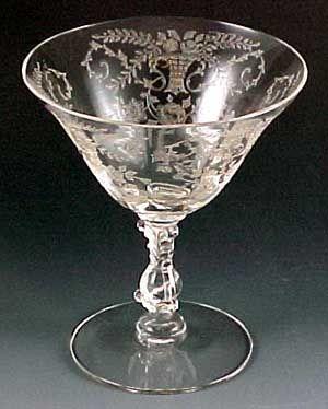 Antique Crystal Stemware | ... Vintage Kitchen Vintage Glassware Vintage Wine Glasses | Crystal
