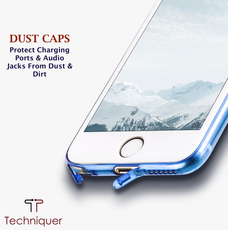 DUST CAPS - Attached dust caps to protect your iPhone's charging port and audio jacks from dust and dirt. Dust caps keep these sensitive areas dust free preventing any connectivity issues from occurring.