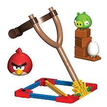 "K'NEX Angry Birds Building Set - Red Bird vs Small Minion Pig - K'NEX - Toys ""R"" Us"