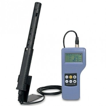 #Kanomax 2211 Indoor Air Quality Monitor measures dew point, wet bulb temperature, absolute humidity, humidity ratio, and % outside air. Learn more and SHOP: http://www.valuetesters.com/kanomax-2211-01-iaq-spare-probe-for-kanomax-2211.html