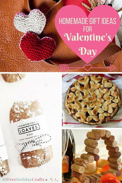 Homemade Gift Ideas for Valentines Day-Spread the love this February with a personal gift that will mean a lot to your loved ones no matter what it is. It really is the thought that counts on Valentine's Day, and with these easy holiday crafts, you are going to sweep your sweetie off their feet.