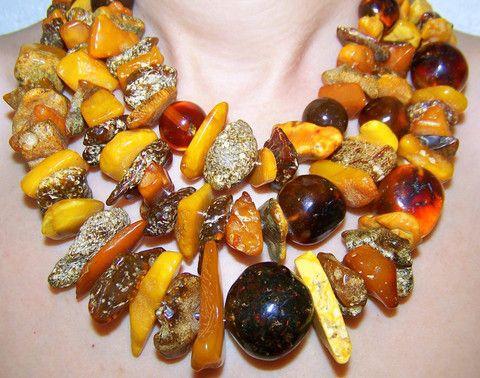 Baltic Amber Necklace Dalia Koss