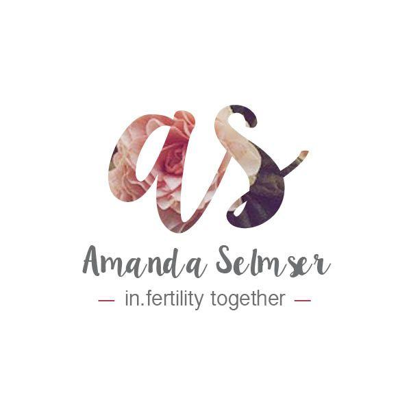 Logo design for Amanda Selmser, Acupuncturist & Doctor of Chinese Medicine  in Calgary, Alberta