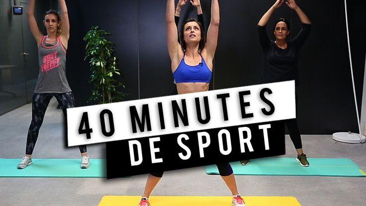 Fitness : 40 minutes de sport avec Julie Ferrez !