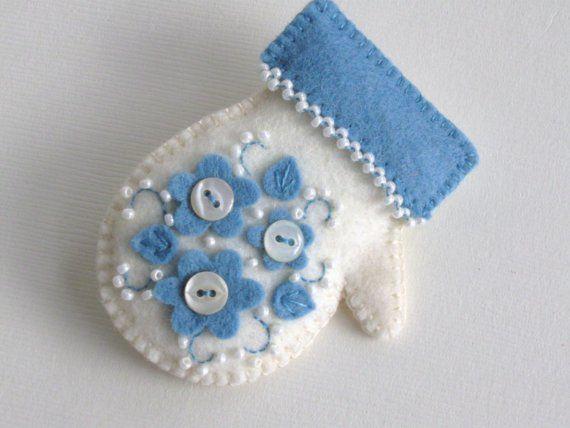 Love this cute mitten!